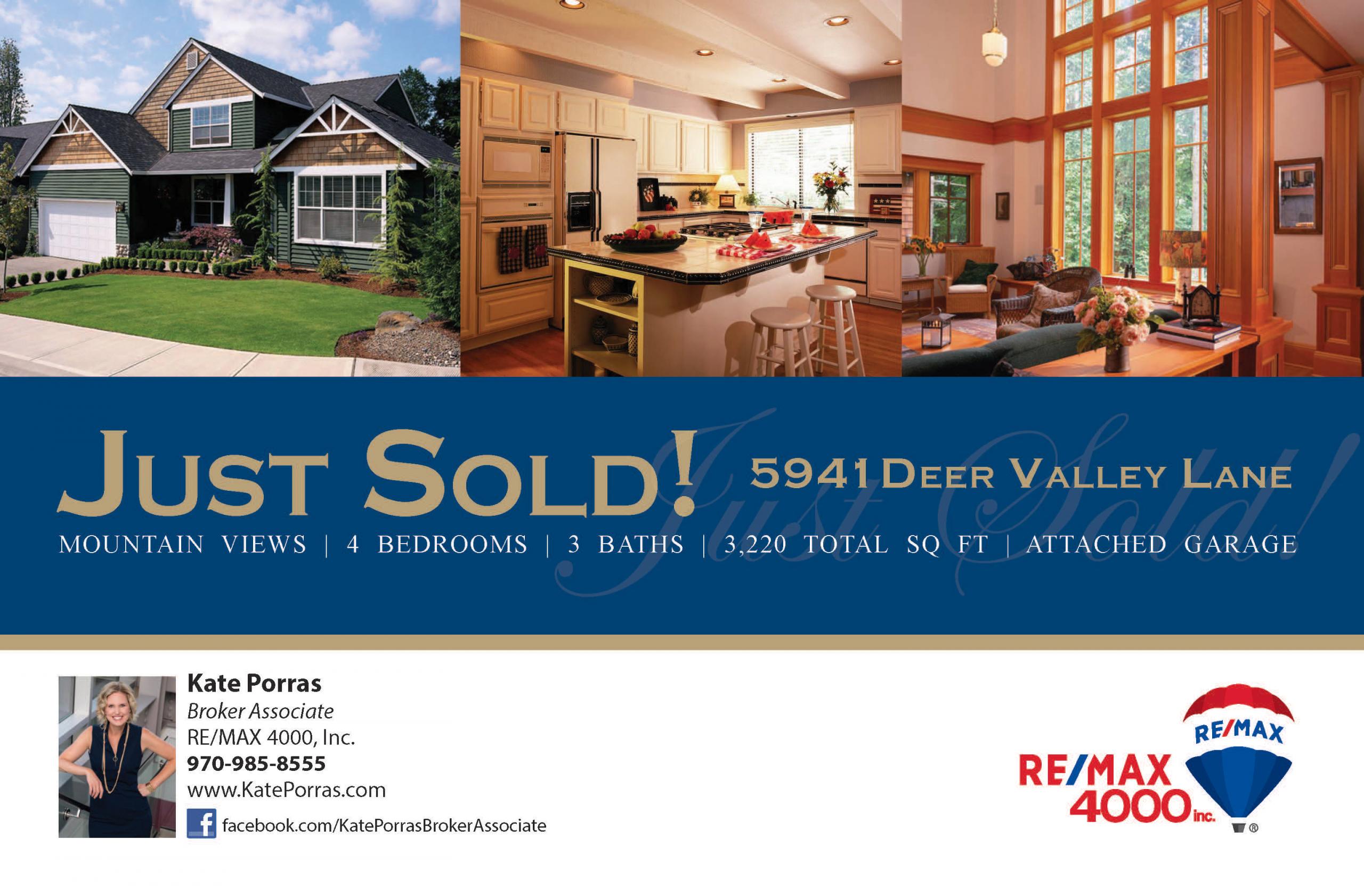 Kate Porras Real Estate Sells Grand Junction Colorado