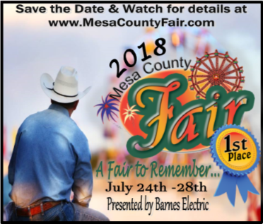 2018 Mesa County Fair Admission is FREE