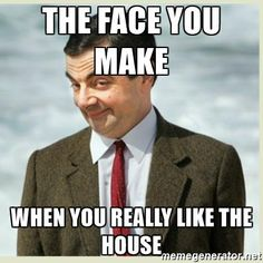 Pic of funny face you make when you find the perfect home with Kate Porras Real Estate